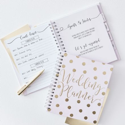 Luxury Pink & Gold Wedding Planner
